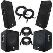 Sales For 2x QSC KW122 12 Powered Speakers with KW181 Active 18 Subwoofers KW-122 KW-181 Speakers