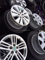 Used car aluminum wheel, car tires, car audio and navigaton system
