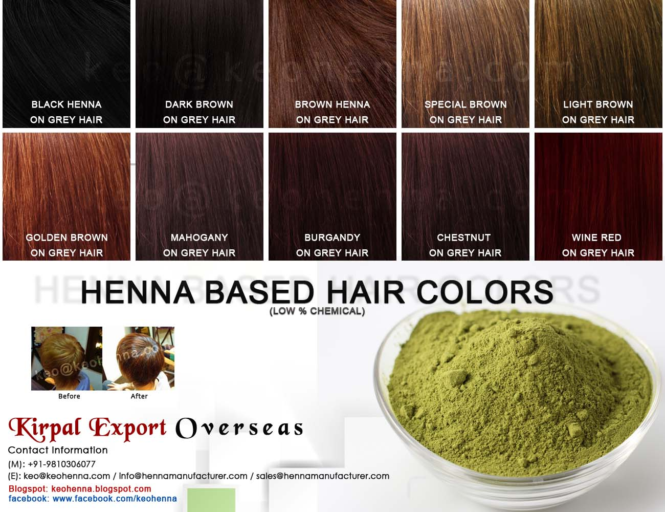 Henna hair color dark brown