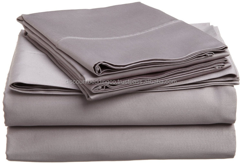 Bulk Wholesale Bed Sheets Double Brushed Microfiber Soft