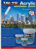 TAI-YO Decorative Wall Acrylic Emulsion Paint and Primer for Interior & Exterior
