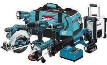 Hand Tools Power Circular Table Saws Electric Saw Set Cordless 7Pc Drills Combo