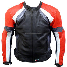Leather Motorcycle Racing Jackets DG-3003