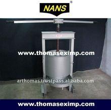 Deshidratación prensa de tornillo