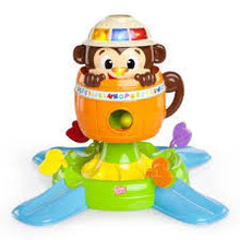 Bright Starts Having A Ball Hide N' Spin Monkey