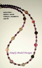 Fashionable Necklaces made from Semi precious stones