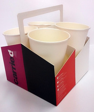 Paper Coffee Cup Carrier