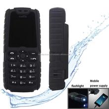 Dual SIM 2G GSM Mobile Phone, Flashlight Functions - Black