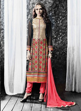 Party wear designer salwar kameez\salwar kameez designs with borders\pakistani salwar kameez