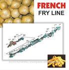 batatas fritas congeladas linha de produção de batatas fritas congeladas de máquinas capacidade de produção 300 kg por hora