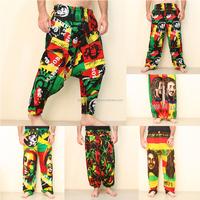 Bob Marley Pants Rave Wear Hippie Fashion Rasta Wholesale Clothing