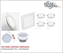 LED Panel lighting Concealed