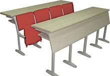 Best Selling Two Seater School Desk and Chair