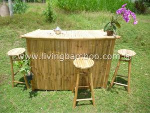 полумесяц bamboo бар для курорта, кофе, заседании, пикник