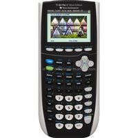Texas Instrument TI-84 Plus C Silver Edition Graphing Calculator