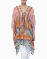 2015 New Style Sexy Kaftan for Ladies / Digital Boho Print / OEM