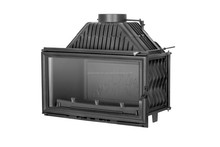 CAST IRON FIREPLACE INSERT for wood KAWMET W15 12 kW