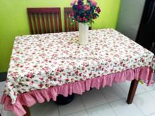 table cloth shabby