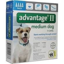 Advantage Flea Control for Dogs and Puppies