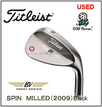 low-cost and popular golf trolley parts and Used Wedge Titleist VOKEY SPIIN WILLED Black finished(2009) for resell , deffer mode