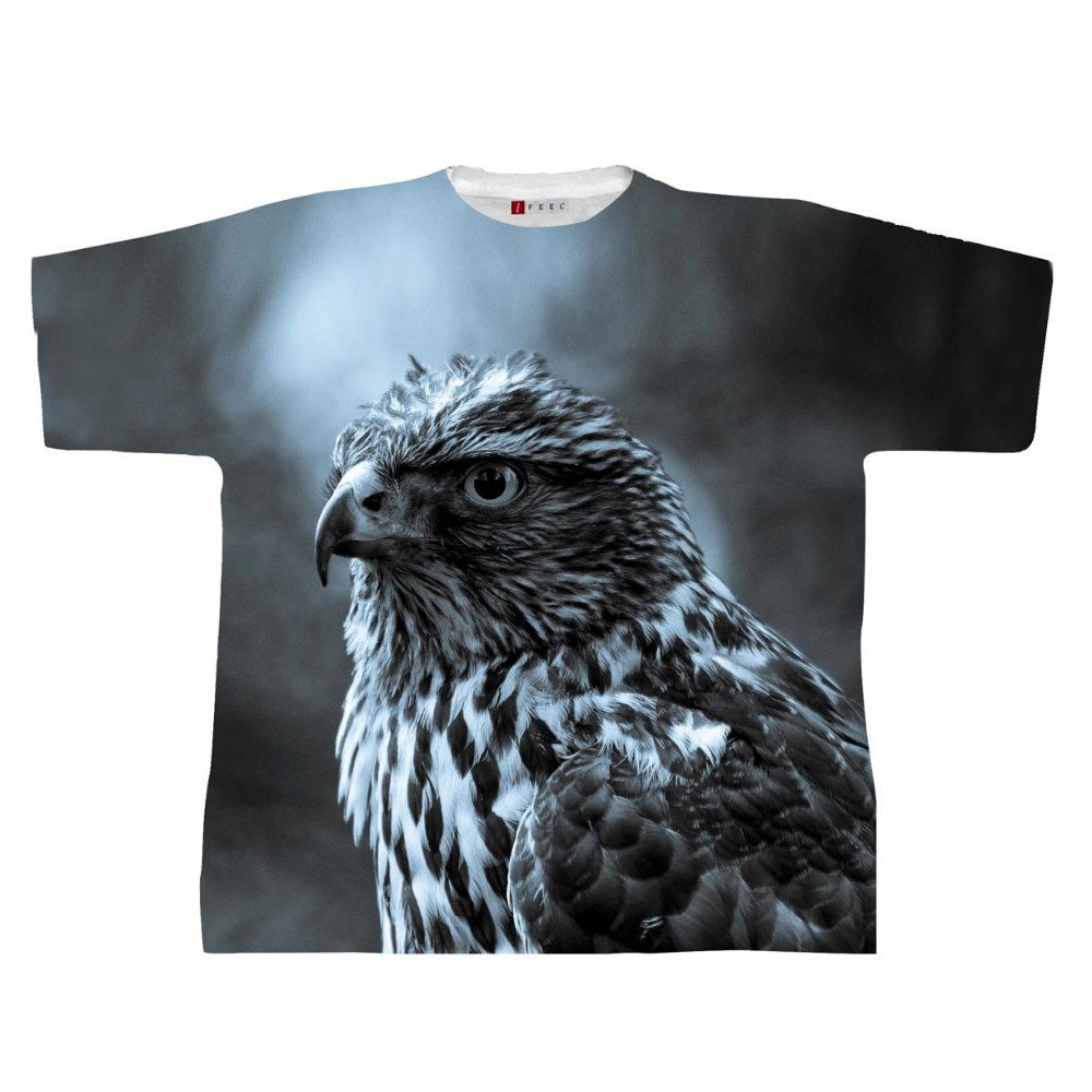 Wholesale animal 3d printing t shirt custom new model 3d t for Wildlife t shirts wholesale