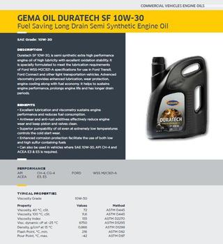 Gemaoil Duratech Sf 10w30