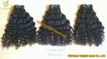 top grade Hair Top Quality With Soft Texture Unprocessed Cambodian Hair Weft and Wavy