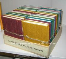 Handmade Pocket Silk Journals notebooks diaries