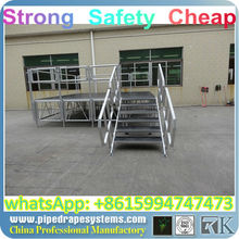 BEST banquet mobile stage for hotel,bronze powder coat