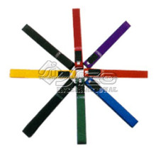 Martial arts karate equipment 100% cotton karate belt colors for sale