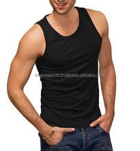 Custom Brand Printing Fitness Tank Top, 100% Cotton Man GYM Tank Top, Lady GYM Bra Dry Fit