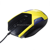 New Cool LED USB Wired Optical 2400 DPI Adjustable Professional Game Gaming Mouse Mice for Pro-gamer For LOL CF