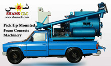 pickup mounted foam concrete machinery