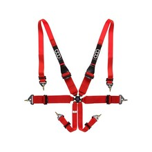 "Safety Racing Car Harness - 6 Points 2""/3"" FIA Approved - Hans friendly"