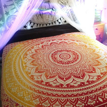 Big Mandala Hippie Wall Hanging Tapestries, Bohemian Tapestry, Queen Size home Decor