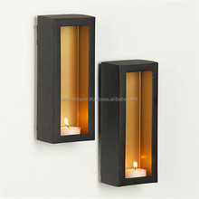 Iron wall sconces candle holder