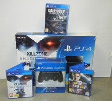 Suitable Price For Wholesale /Promo For SONY PLAYSTATION 4 PS4 500GB WHITE CONSOLE , 5 GAMES - ORIGINAL - FREE SHIPPING - SEALED