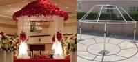 RK Wedding pipe and drape round ,wholesale pipe and drape wedding