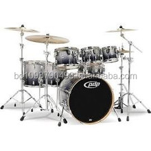 PDP Concept Maple by DW 7-Piece Shell Pack Silver to Black Fade