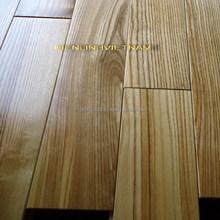 white ash solid wood flooring 25x90xrandom length UV natural Ash color