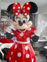 MINNIE MOUSE MASCOT COSTUME DELUXE SPECIAL USA CANADA