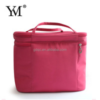 2012 fashion design red professional professional metal cosmetic compact case