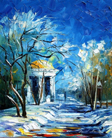 Handmade oil painting artists names of Duveneck Frank