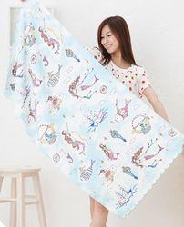 Kids Mermaid Tail Towel Mermaids Towel Children Blanket Travel Blanket Kids Beach Towel