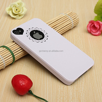 Good Quality Ultra Thin Sweet Heart Hollow PC Cover Skin Hard Back Case For Apple For iPhone 4 4S Shell Protector