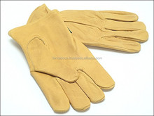 Work Wears | Canadian Rigger Gloves, Canadian Rigger Gloves, Palm Made Of Sheepskin Leather Back Printed /Best Quality