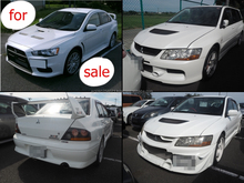 Durable and Japanese used mitsubishi lancer evolution VII with good fuel economy made in Japan