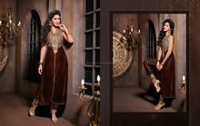 alta calidad indio vestido anarkali trajes de diseñador india étnica trajes salwar