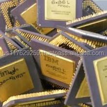 Ceramic processor CPU scrap