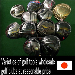 Various types of cute ladies golf shirts golf tools , shoes , bags also available